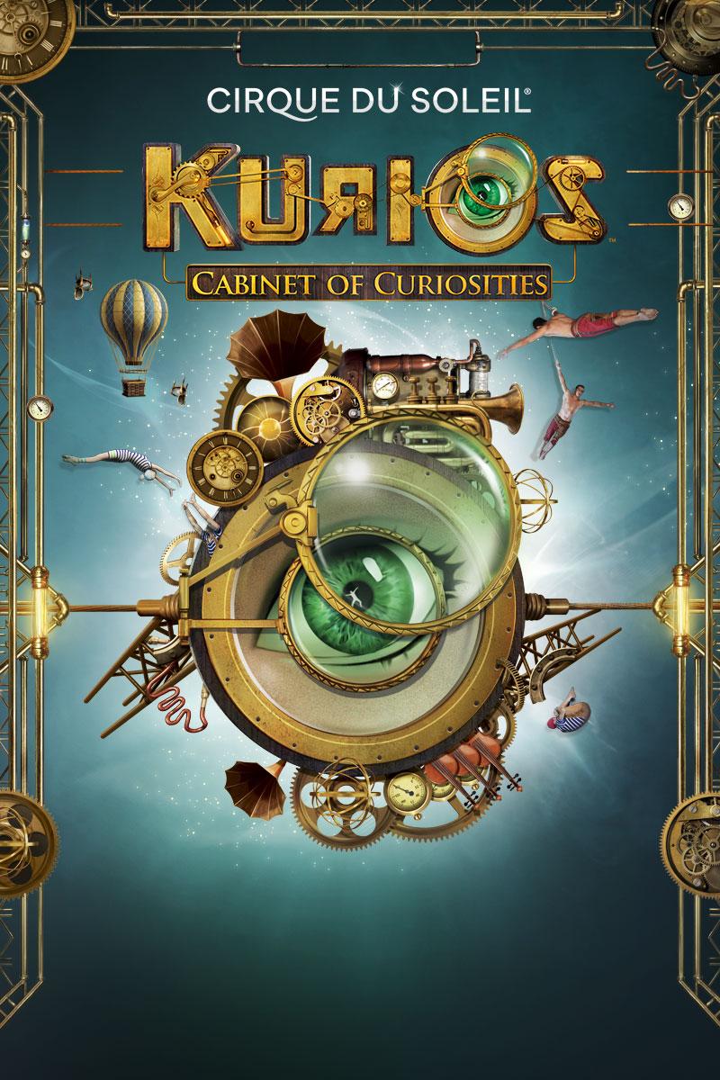 KURIOS - Cabinet of Curiosities (Cirque du Soleil) (Review
